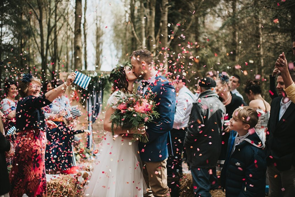 Woodland Moot Hall wedding