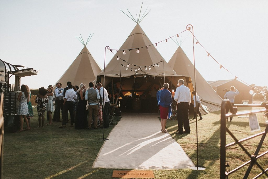Lincolnshire Tipi Wedding