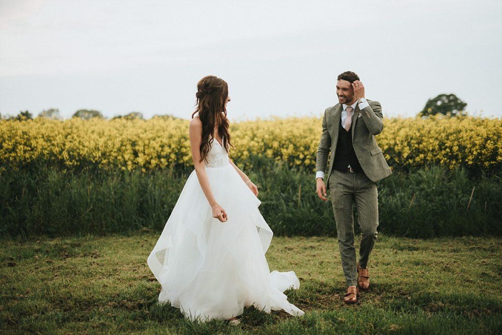 rustic barn wedding yorkshire