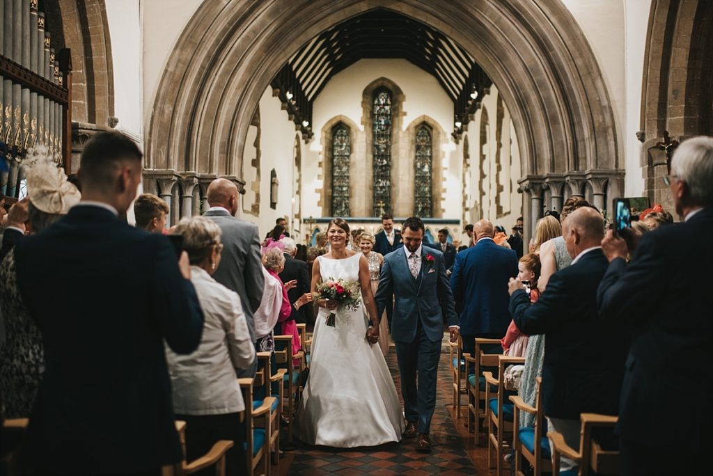 Lincolnshire wedding st andrews church