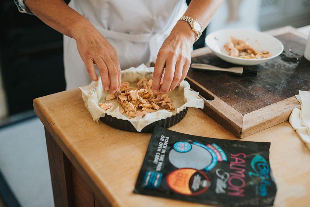 Lifestyle recipe campaign for JCS Fish