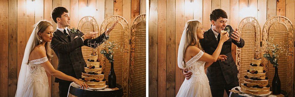 The Barns East Yorkshire wedding